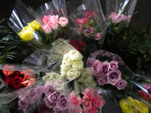 Sacramento Farmer's Market Fresh Flowers